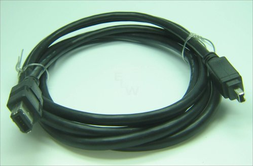 IEEE1394S-04S-006 FIRE WIRE KABERL 6-4 SS