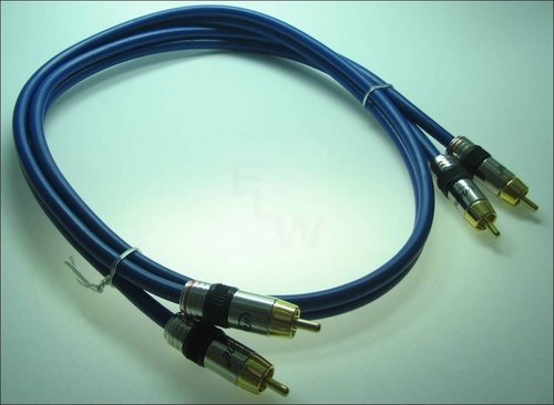 PRO-RCA2A-1.0 CINCH-KABEL AUDIO 2-FACH 1.0M