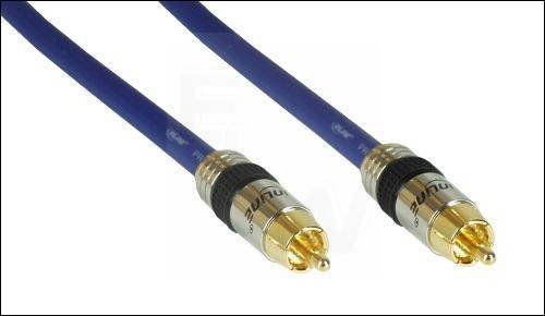 PRO-RCA1V-0.5 CHINCH-KABEL VIDEO 1-FACH 0.5M