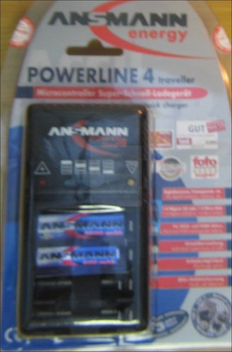 POWERLINE4M ANSMANN LADEGERAET