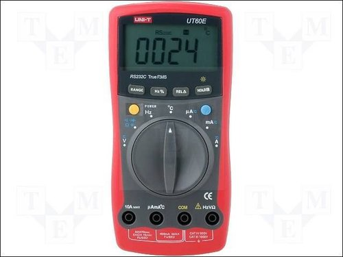 UT60E MULTIMETER WITH TRUE RMS AND RS232,