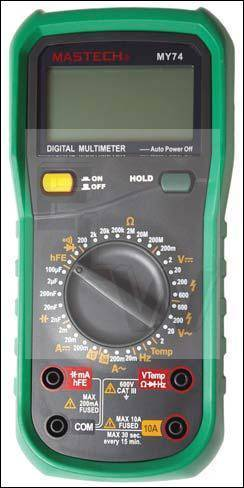 MY74  DIGITAL MULTIMETER