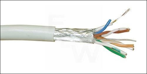 VERLEGEKABEL CAT. 5E, 125MHZ S-FTP, PVC,