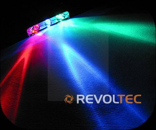 REVOLTEC LASER LED,TRI-COLOR