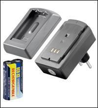 CR-V3 R CHARGER-SET (1X1100MAH LION) FOTOAKKU