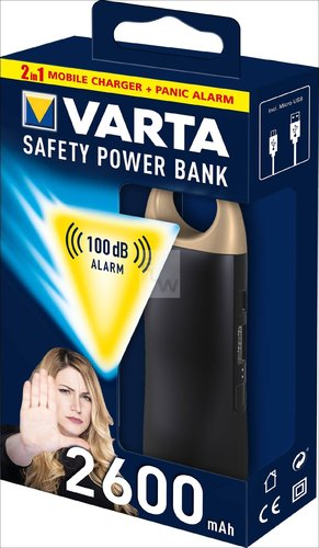 SAFETY POWER BANK 2600 MAH