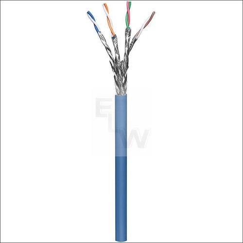 CAT 6A INSTALLATIONSKABEL, STARR 4X2XAWG23-1; S-FT