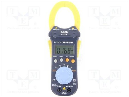 AX-354 DIGITAL CLAMP METER; dm:38MM 3 3-4 DIGITS;