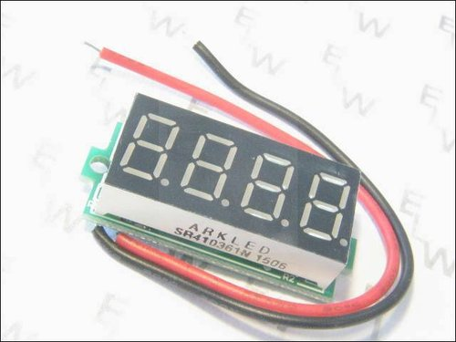 LED DISPLAY COLOR DC 3.50-30.00V ROT 4 ANZEIGEN