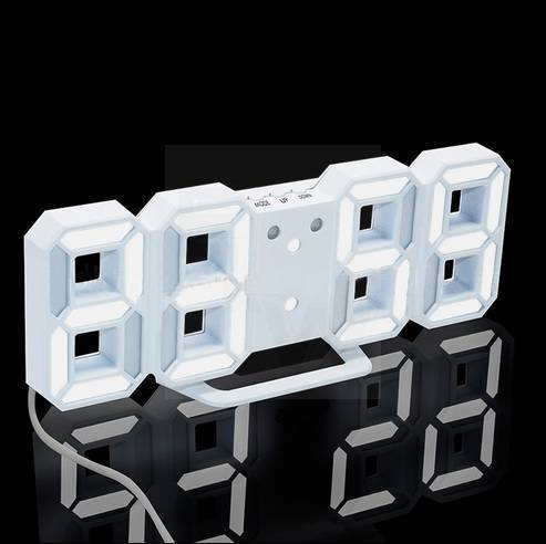 LED TABLE DESK NIGHT WALL CLOCK